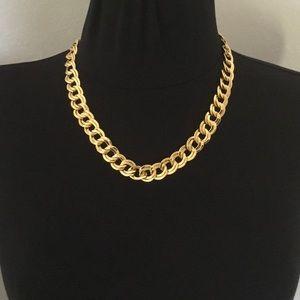 Gold Choker Necklace Monet